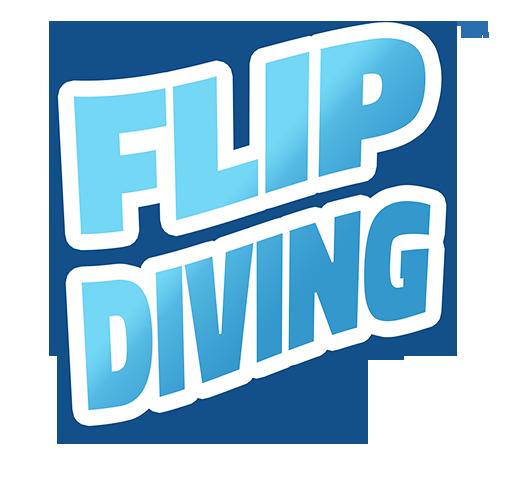 Flip Diving Logo